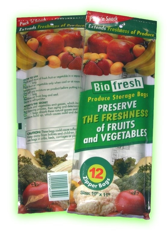 Bio Fresh Zipper bags